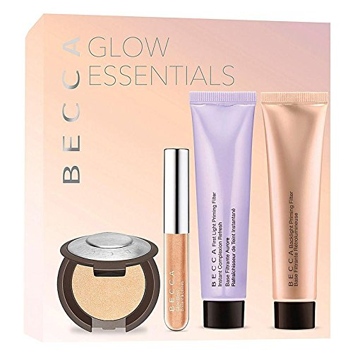 Becca Glow Essentials Kit - Collection of 4 Best-sellers (Trial Size)