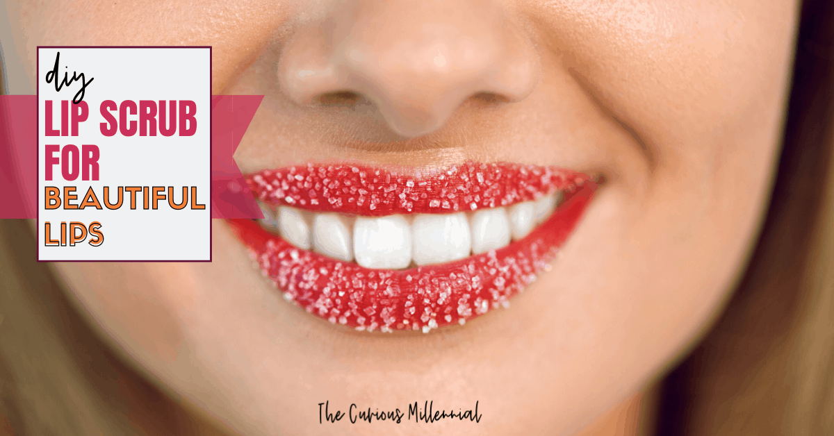 DIY Lip Scrub For Soft, Beautiful Lips