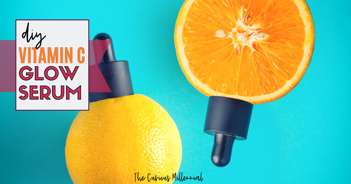 Try This Easy (5 min) DIY Vitamin C Serum For Glowing Face