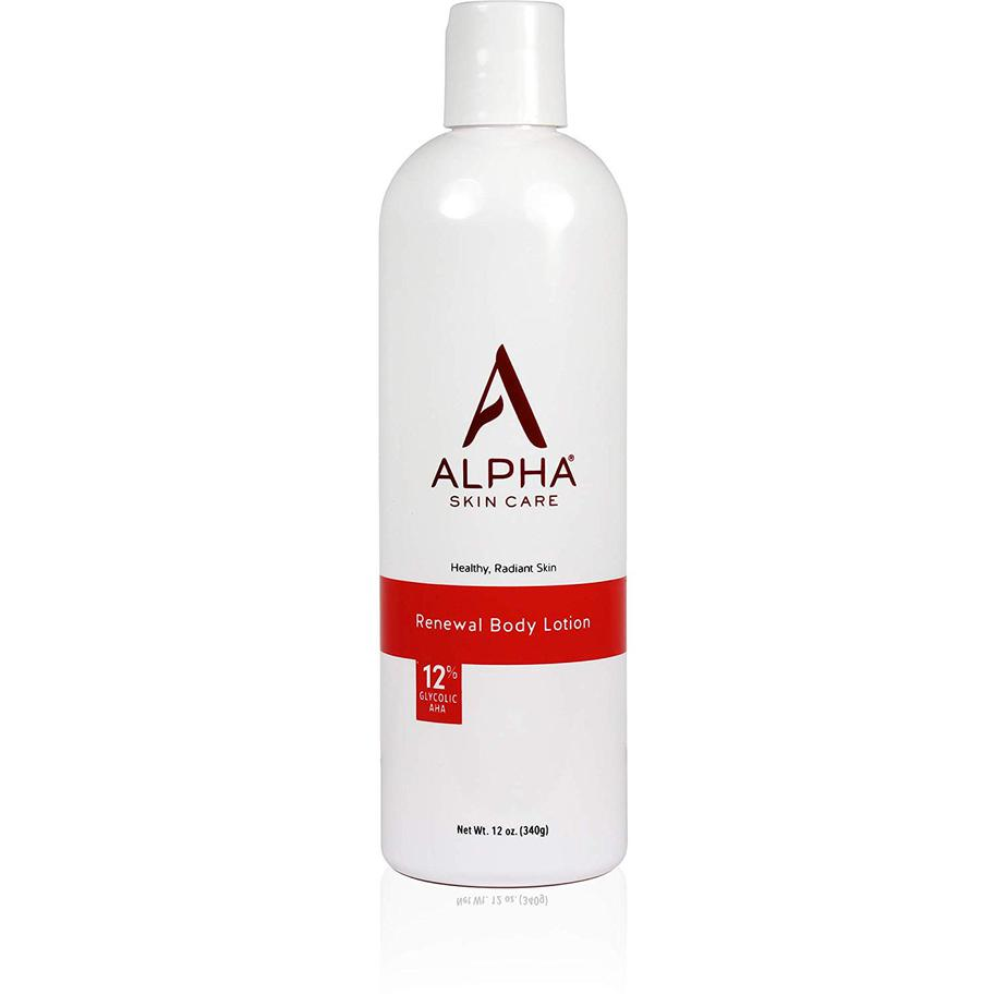 alpha skincare renewal body lotion