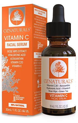 oznaturals vitamin c serum for face