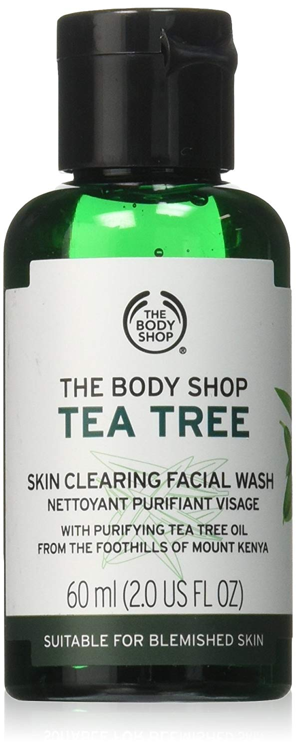 tea tree skin clearing face wash