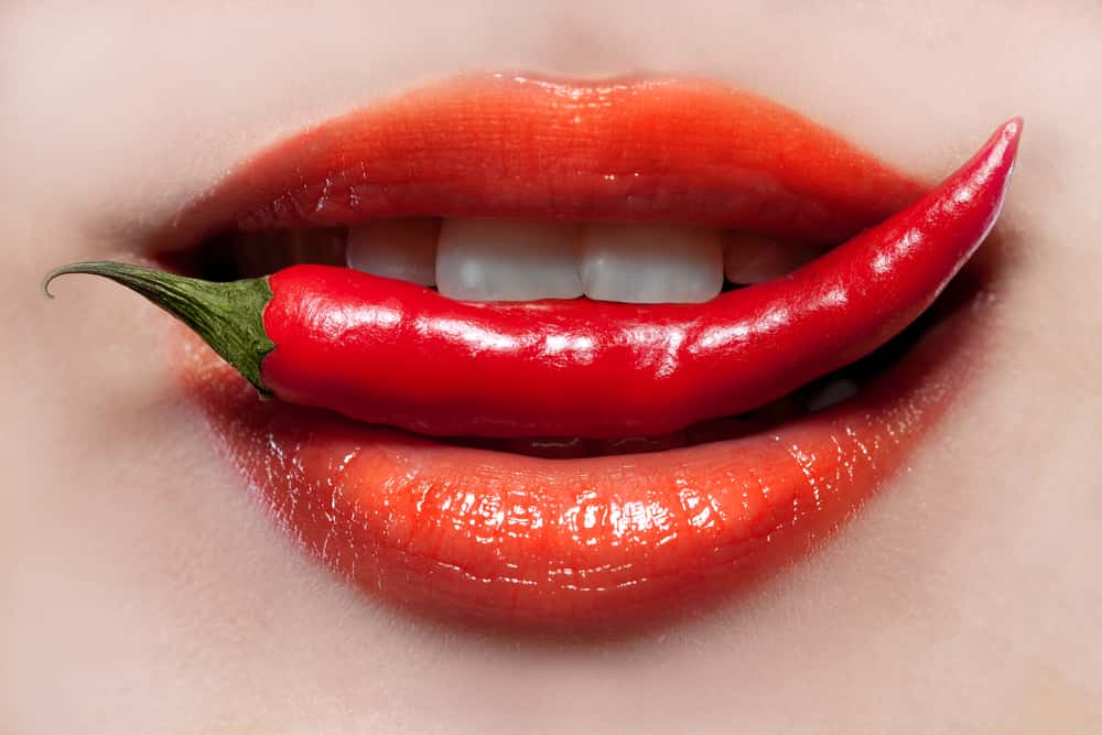 spicy food should not be included in the oily skin diet