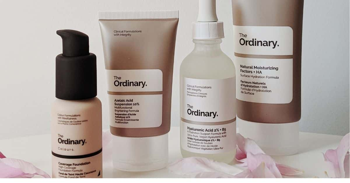 The Ordinary regimen for oily skin