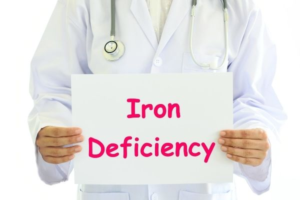 can low iron affect your skin