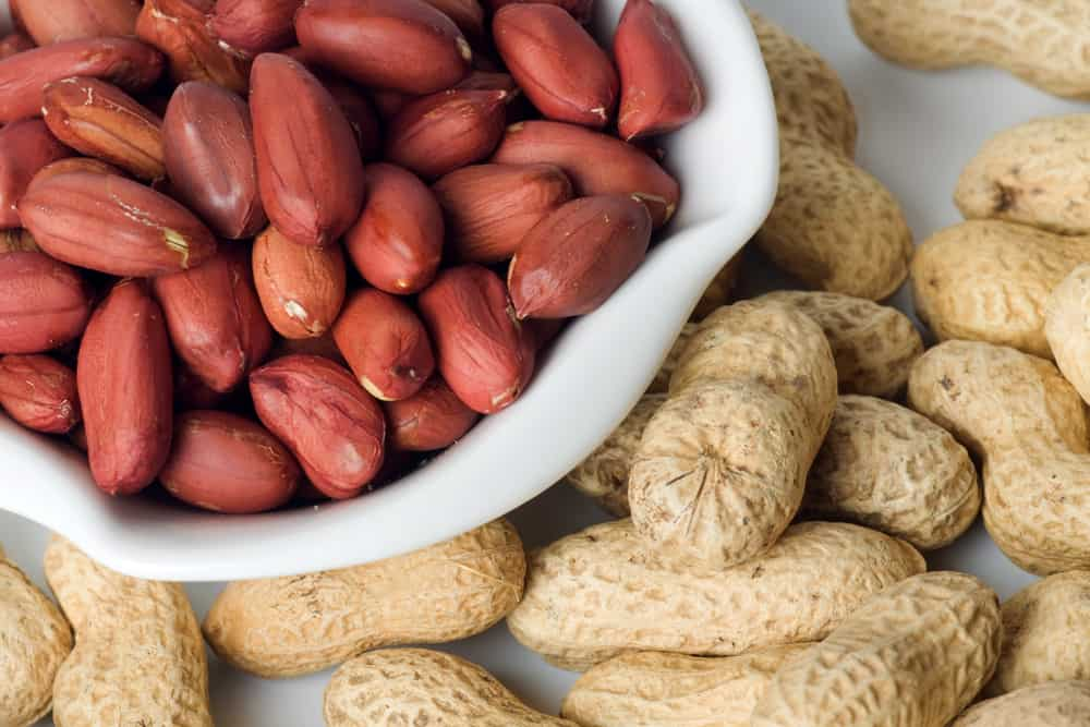 can peanuts cause pimples