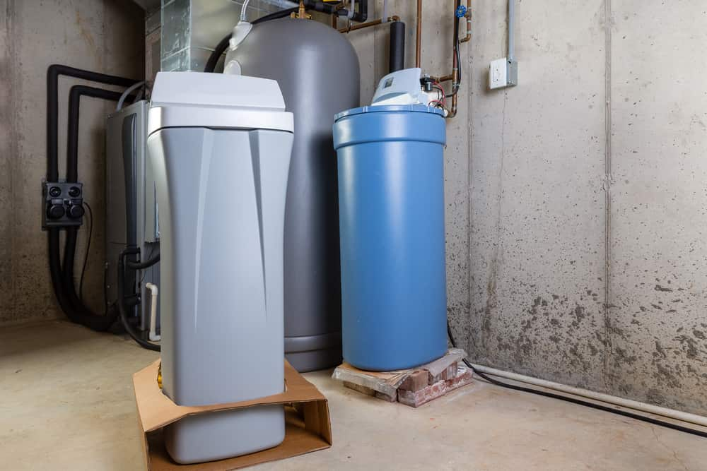 can water softeners cause skin problems