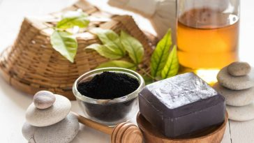 charcoal and tea tree soap for oily skin