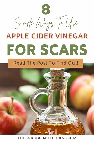 how to use apple cider vinegar for scars