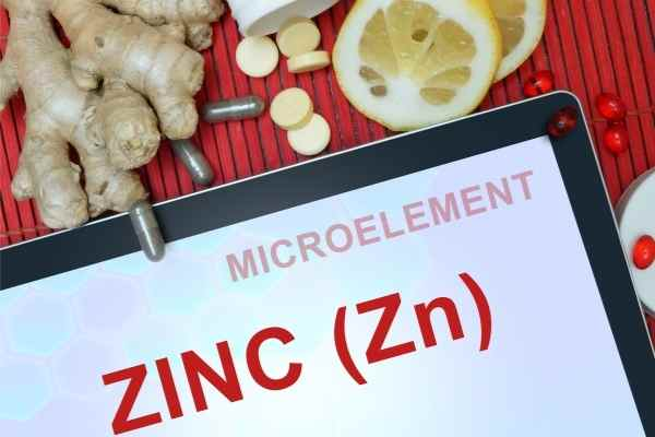 zinc when included in diet can help acne